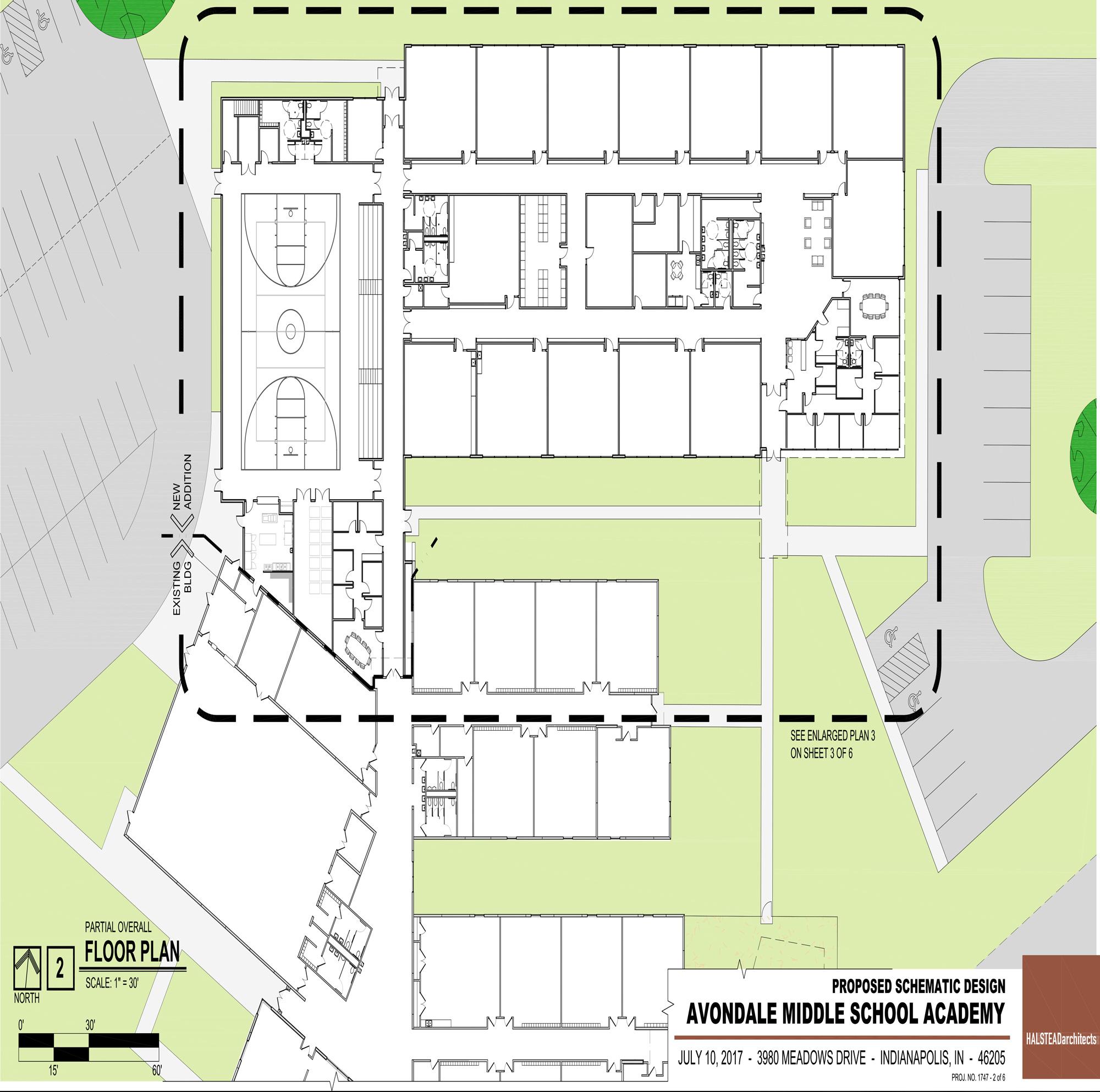 Building Plans - Avondale Meadows Middle School